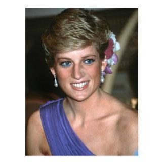 Cartão Postal No.146 princesa Diana Tailândia 1988