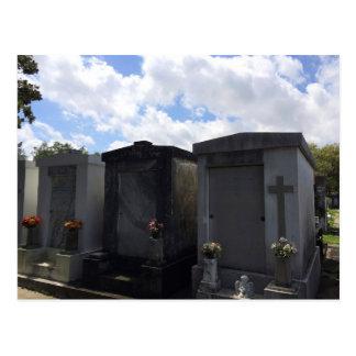 Cartão Postal No. 1 do cemitério de Lafayette, Nova Orleães,