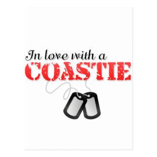 Cartão Postal No amor com um Coastie