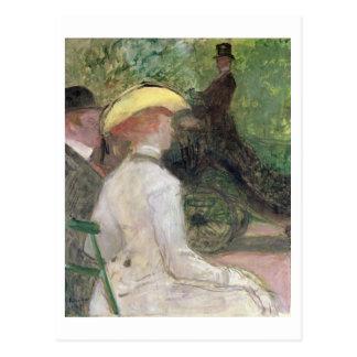Cartão Postal No Bois de Boulogne, 1901 (óleo em canvas)