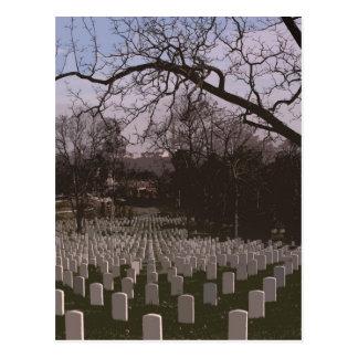 Cartão Postal No cemitério do nacional de Arlington