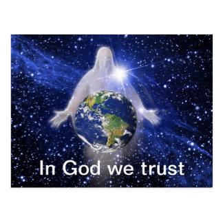 Cartão Postal No deus nós confiamos