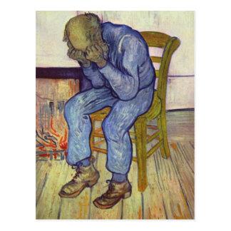 Cartão Postal No limiar da eternidade - Vincent van Gogh