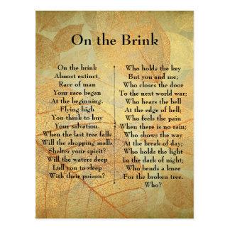 Cartão Postal No poema do limiar