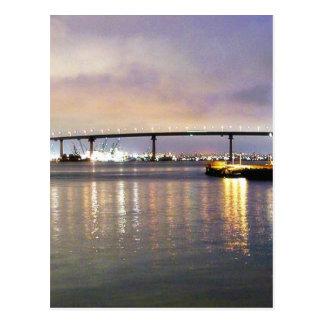 Cartão Postal Noite das pontes