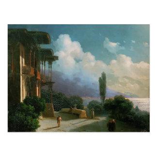 Cartão Postal Noite de Ivan Aivazovsky- perto de Yalta