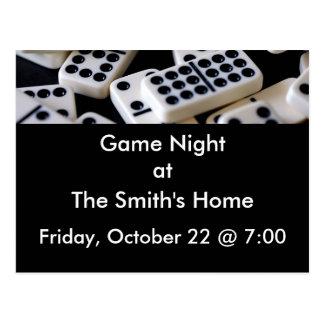 Cartão Postal Noite do jogo