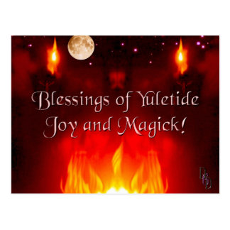 Cartão Postal Noite do solstício