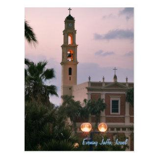 Cartão Postal Noite Jaffa, Israel