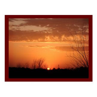 Cartão Postal Noite Sun