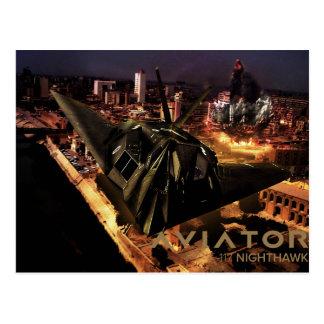 Cartão Postal Noitibó-americano F-117