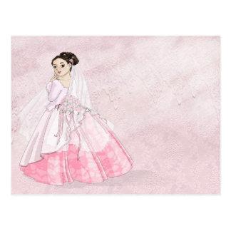 Cartão Postal Noiva de Sakura