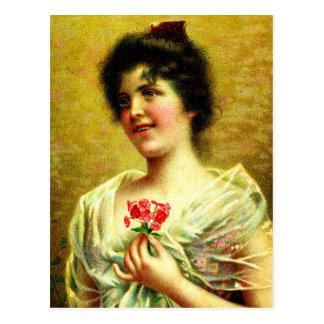 Cartão Postal Noiva do Victorian
