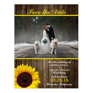Cartão Postal Noivos - Natal do casal - cães brancos
