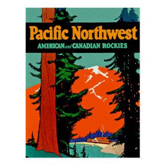 Cartão Postal Noroeste pacífico