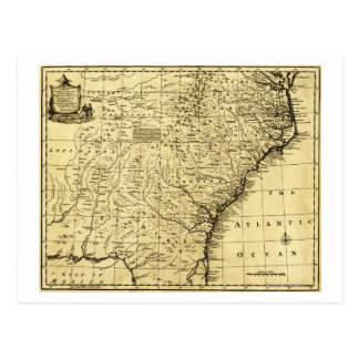 Cartão Postal Norte e South Carolina & Geórgia - panorâmicos
