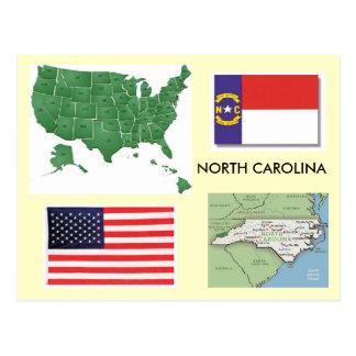 Cartão Postal North Carolina, EUA