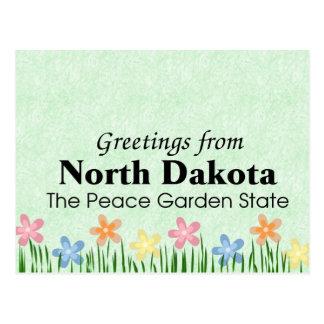 Cartão Postal North Dakota