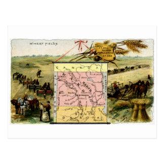 Cartão Postal North Dakota 1889