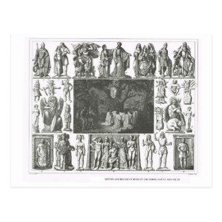 Cartão Postal Noruegueses, Gália e deuses celtas
