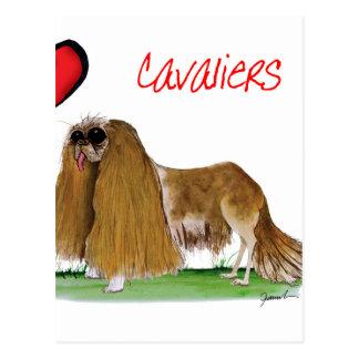 Cartão Postal nós cavaliers do luv dos fernandes tony