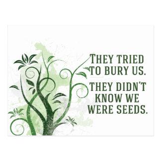 Cartão Postal Nós éramos sementes