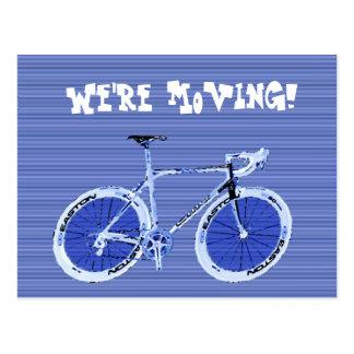 Cartão Postal Nós estamos movendo-nos!