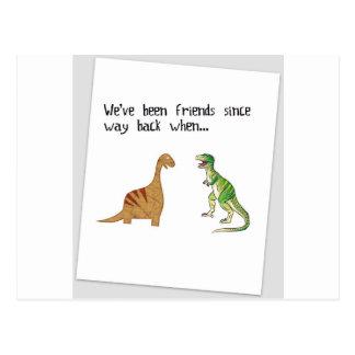 Cartão Postal Nós fomos amigos