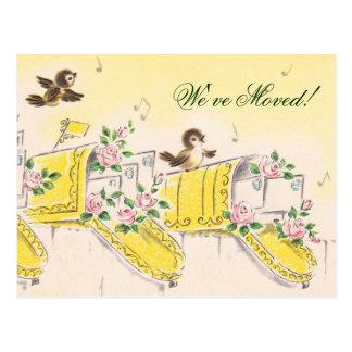 Cartão Postal Nós movemo-nos!