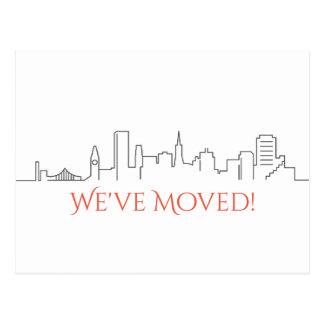 Cartão Postal Nós movemos a skyline da cidade de San Francisco