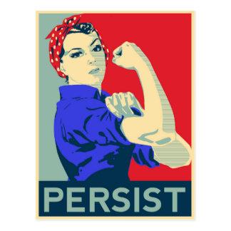 Cartão Postal Nós podemos fazê-lo: Rosie o rebitador persiste