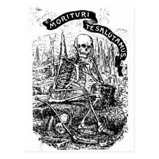 Cartão Postal Nós que estão a ponto de morrer saudação você