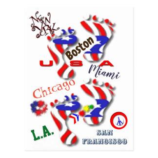 Cartão Postal Nós somos América