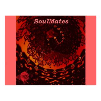 """Cartão Postal """"Nós somos SoulMates """" *"""