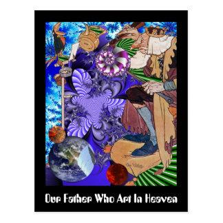 Cartão Postal Nosso pai que arte no céu