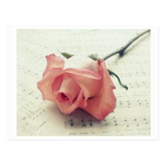 Cartão Postal Nota do amor