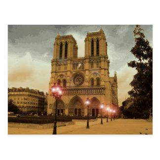Cartão Postal Notre Dame