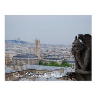 Cartão Postal Notre Dame de Paris