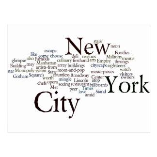 Cartão Postal Nova Iorque