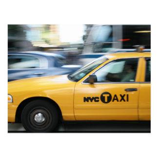 Cartão Postal Nova Iorque Cab