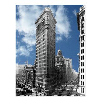 Cartão Postal Nova Iorque da construção de Flatiron