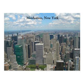 Cartão Postal Nova Iorque de Manhattan do Midtown