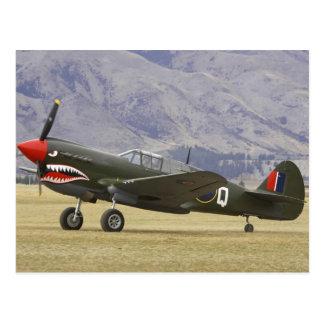 Cartão Postal Nova Zelândia, Otago, Wanaka, Warbirds sobre 5