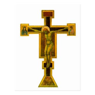 Cartão Postal Novela de Firenze Santa Maria, crucifixo