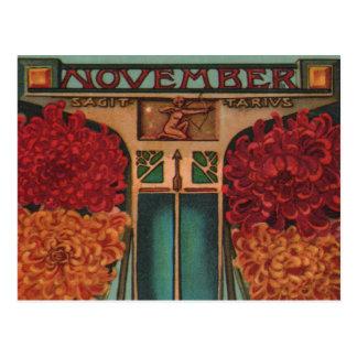 Cartão Postal Novembro - Sagitário