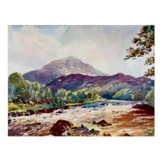 Cartão Postal Nr Callander de Teith, Perthshire, Scotland