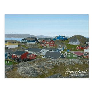 Cartão Postal Nuuk