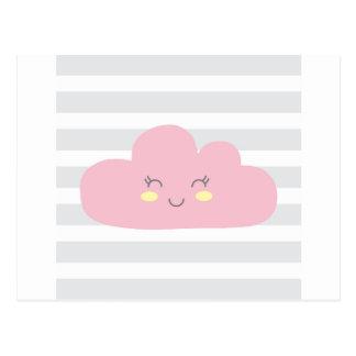 Cartão Postal nuvem