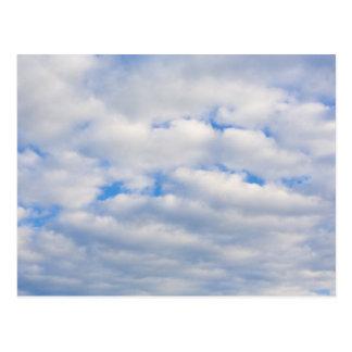 Cartão Postal nuvens