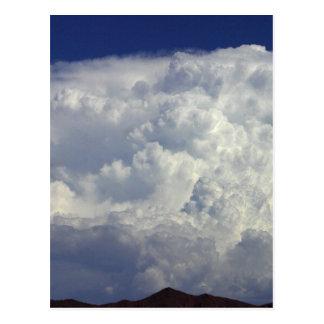 Cartão Postal Nuvens de tempestade
